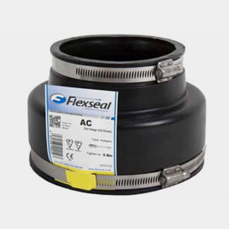 "Flexseal Adaptor Coupling 6"" Clay"