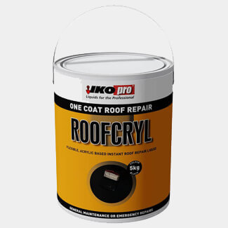 Iko One Coat Roof Repair Roofcryl Compound 5Kg - Various Colours Available