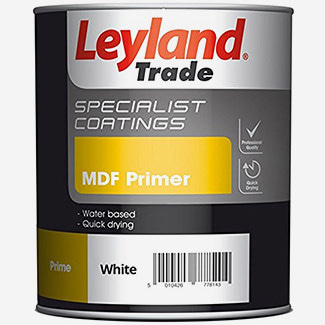 Leyland Trade MDF Primer White - More Sizes Available
