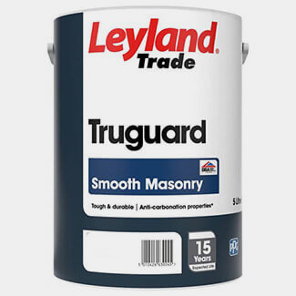 Leyland Trade Truguard Smooth Masonry Paint 5 Litre - Various Colours Available