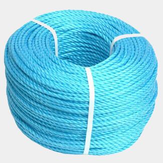 Faithfull Poly Rope Coil Blue 6mm x 30mtr