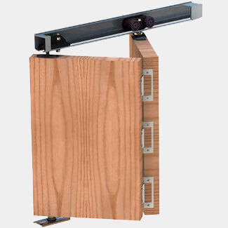 Rothley Herkules Plus Folding Door Kit for 2 Doors - Various Dimension Available