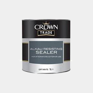 Crown Trade Alkali Resisting Sealer Off White - Various Litres Available