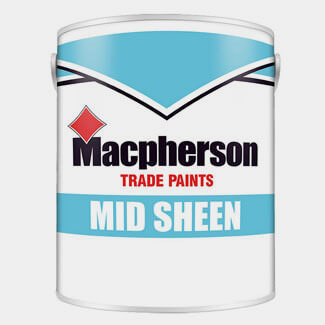 Macpherson Medium Sheen Paint - Various Colours And Litres Available