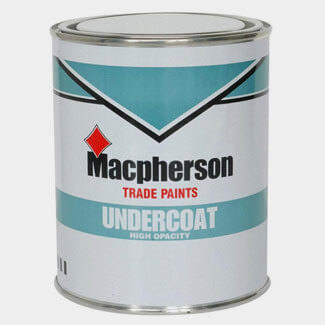 Macpherson Undercoat Paint - Various Colour And Litres Available