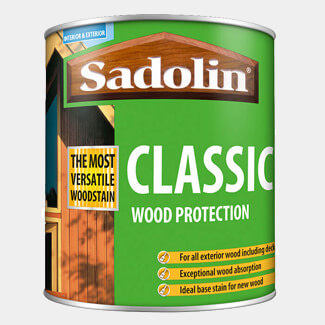 Sadolin Classic All Purpose Woodstain - Various Finishes And Pack Size Available