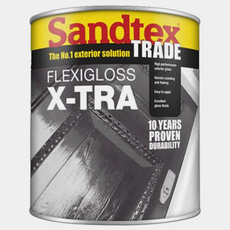 Sandtex Trade Flexigloss X-Tra Paint - Various Colours And Litres Available