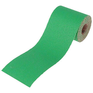 Faithfull 10m Alox Paper Roll Green 120G