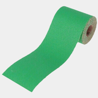 Faithfull 5m Alox Paper Roll Green 120G