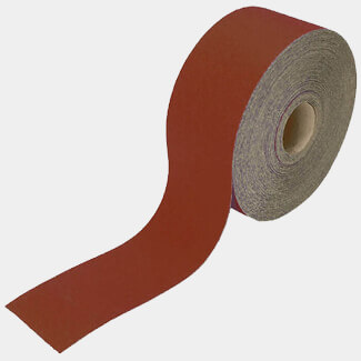 Faithfull 50m Alox Paper Roll Red 120G