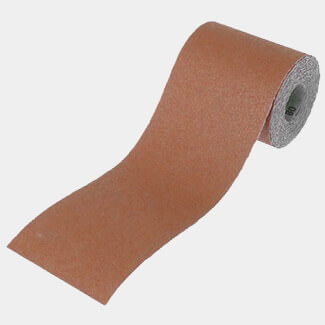 Faithfull 10m Alox Paper Roll Red 120G