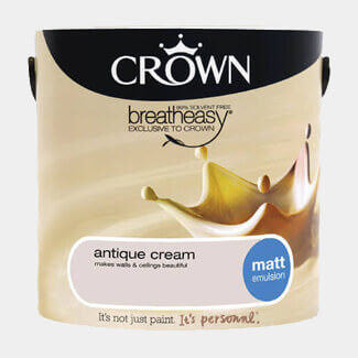 Crown Breatheasy Paint - Various Sheen, Colours And Litres Available