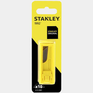 Stanley 1992 Dispenser Blades Card