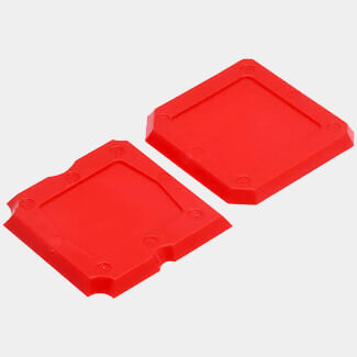 Tile Rite Professional Seal Smoother Red - Pack Of 2