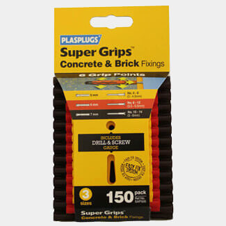 Tile Rite Plasplugs Assorted Supergrips Clip Pack