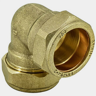 Masterflow Compression 90° Elbow - Various Sizes Available