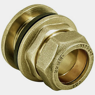 Masterflow Compression Flanged Tank Connector - Various Sizes Available
