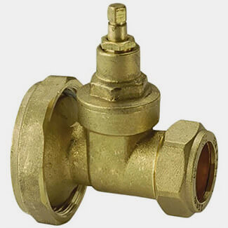 Masterflow Brass Gate Type Pump Valve - Various Sizes Available