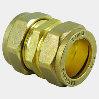 Masterflow Compression Straight Coupler - Various Sizes Available