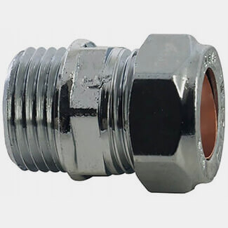 Masterflow Compression CP Male Straight Coupler