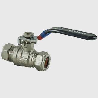 Masterflow Yellow Brass Lever Ball Valve Low Pressure - Various Sizes Available