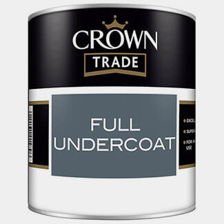 Crown Trade Full Undercoat 2.5L - Various Colours Available