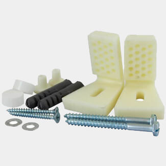 Timco WC And Bidet Fixing Kit