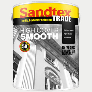 Sandtex Trade Masonry Paint High Cover 5L -  Various Colours Available
