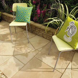 Bradstone Old Riven Paving 35mm Thick - Various Finishes Sizes And Quantity Available