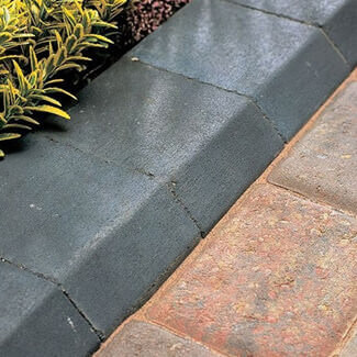 Bradstone Block Kerb Accessories Small - Various Finishes And Variation Available - Sold Each