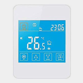 Sunny Underfloor Heating Gloss Touchscreen Timerstat - Various Finishes Available