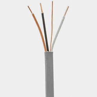 Pitacs H6243Y Grey 3 Core And Earth Cable - Various Thickness And Length Available