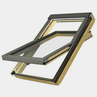 Fakro Centre Pivot Standard Electric Roof Windows - Various Finish, Glazing, Size And Flashing Available