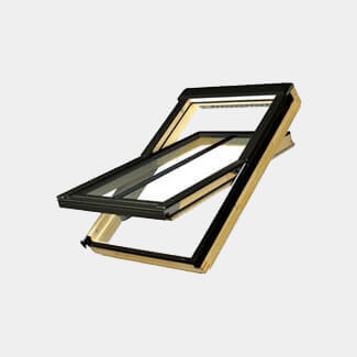 Fakro Centre Pivot Conservation Roof Windows - Various Finish, Glazing, Size And Flashing Available