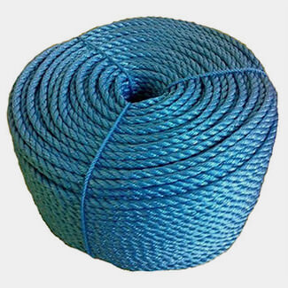 Chain Products Stranded Polypropylene Rope Blue - Various Diameter And Length Available
