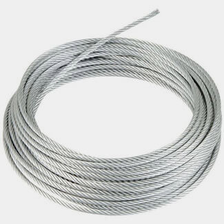 Chain Products Wire Rope Bright Zinc Plated