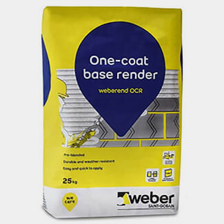 Weber Weberend One Coat Render Grey 25kg