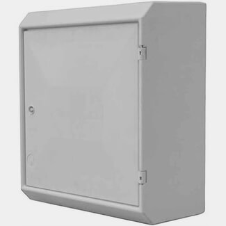Tricel Electrical Meter Box Surface White