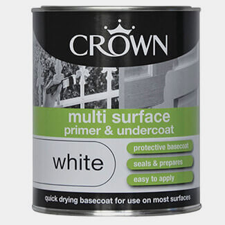 Crown Multi Surface Primer And Undercoat White 750ml