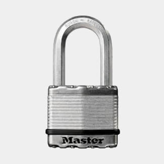 Dale Double Locking Laminated Steel Padlock - Various Sizes Available