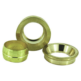 Masterflow Yellow Brass 3 Part Reducing Set - Various sizes Available