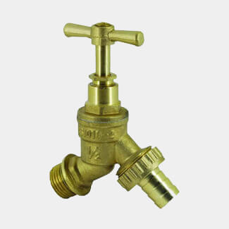 Masterflow Brass Bibcock With Hose Union - Various Sizes Available