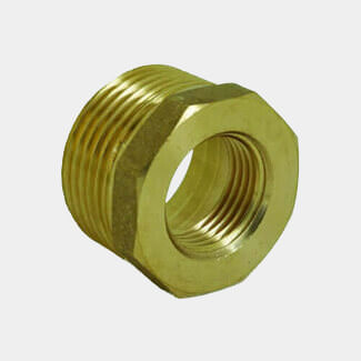 Masterflow Yellow Brass Bush - Various Sizes Available