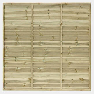 Grange Fencing Ultimate Lap Panel 1828mm Wide - Various Height Available