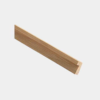 Cheshire Mouldings Firecheck Hockey Stick Glass Bead Oak Length 2400mm