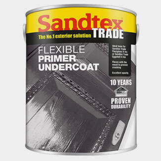 Sandtex Trade Flexible Primer Undercoat Paint - Various Colours And Litres Available