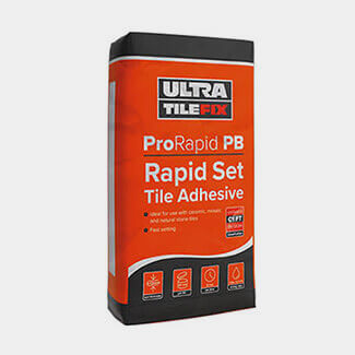 Ultra Tile Pro Rapid Set Tile Adhesive Grey 20Kg - Available In Various Quantity