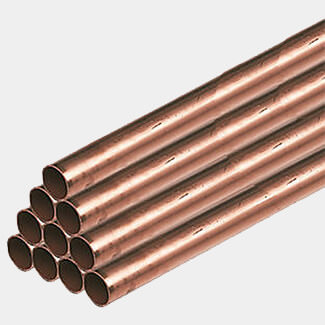 Lawton Tubes 3mtr Long Copper Pipe - Diameters Available