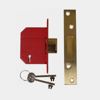Yale 2100S Strongbolt BS 5 Lever Mortice Deadlock - Various Sizes And Finishes Available
