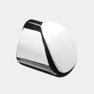 Cheshire Mouldings Axxys Round Handrail End Cap - Various Finishes Available